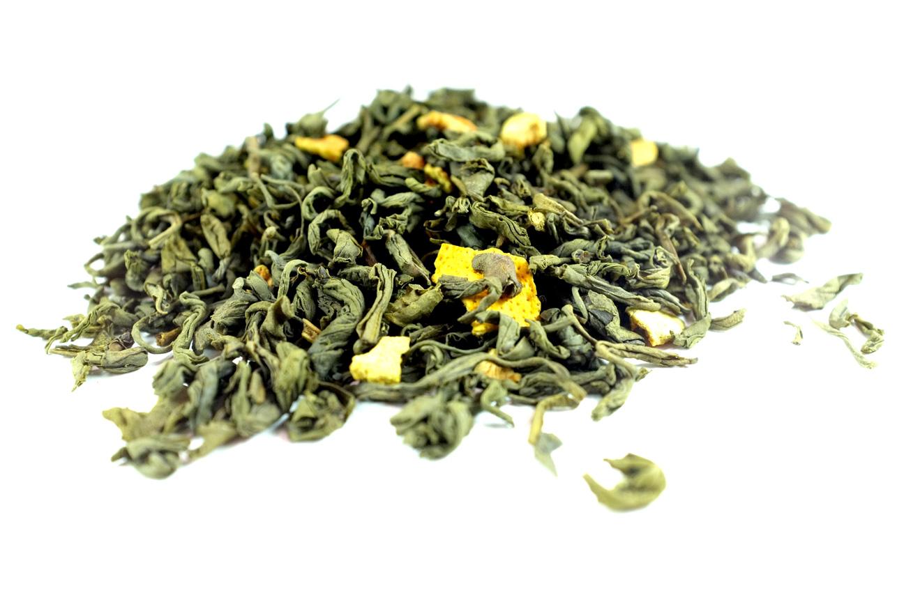 Thé-Vert-Bergamote